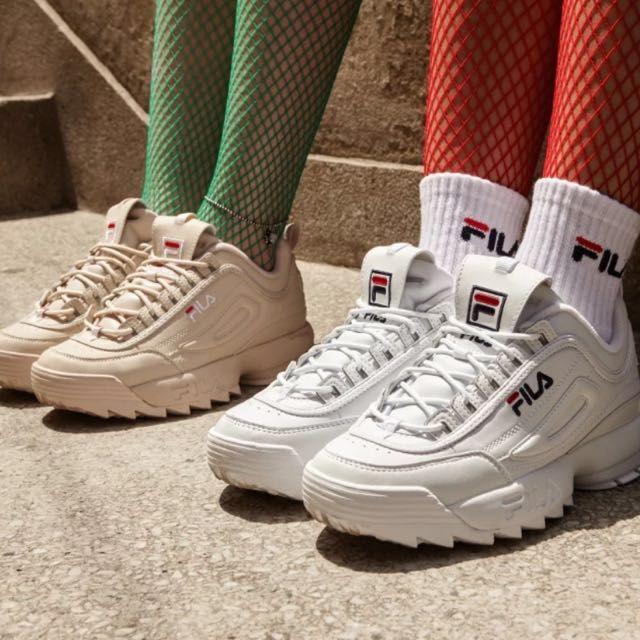 Fila sneakers dames sneaker trend 2018 sneakers 2018