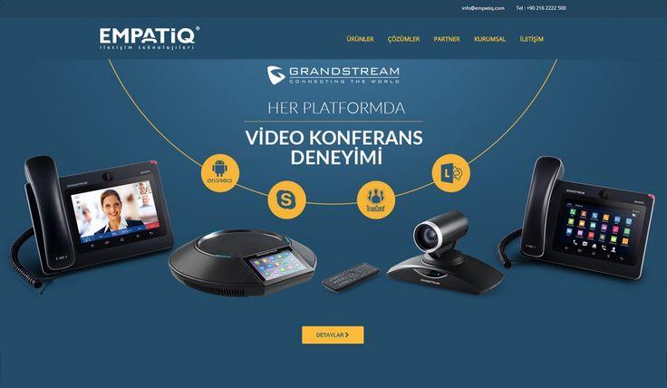 Empatiq Telekom Kontrol Panelli Web Sitesi - Silüet Tanıtım Web Tasarım