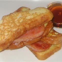 French Toast and Spam Sandwiches Allrecipes.com