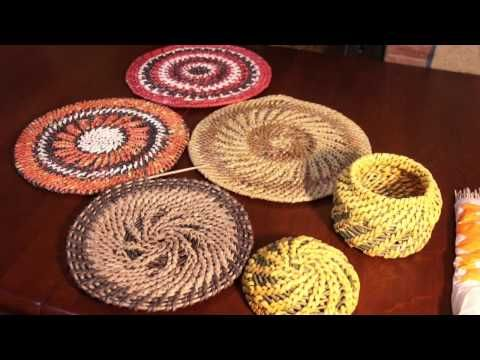 Имитация плетения из корня. Узор «колосок»   oblacco