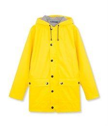 Iconic women's waxed raincoat Jaune yellow - Petit Bateau