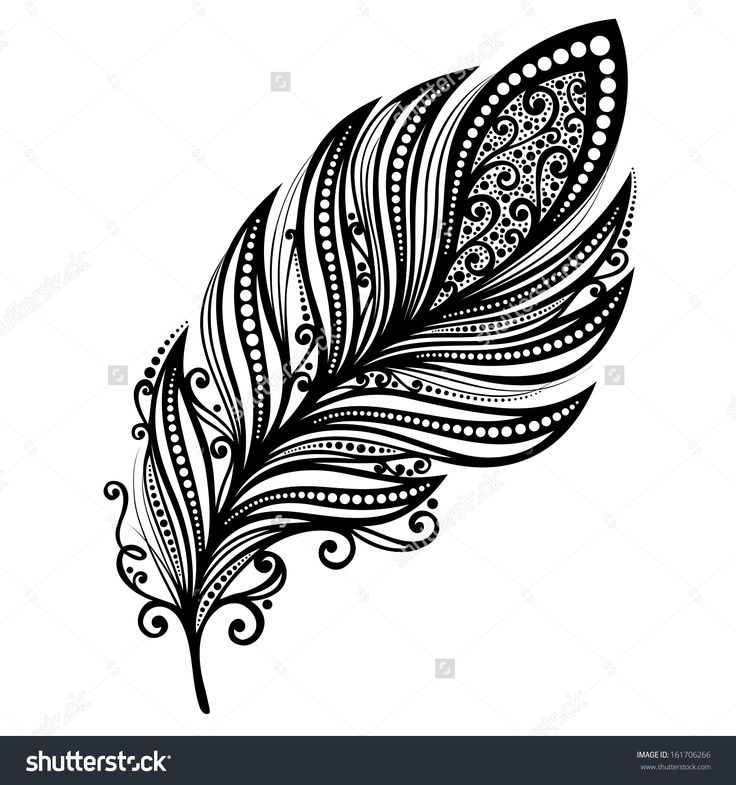 рисунок пера с цветком: 16 тыс изображений найдено в Яндекс.Картинках