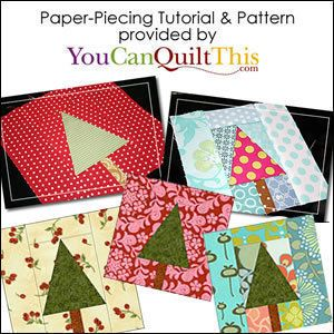 Download How to Paper Piece Tutorial (Foundation Piecing) + Free Pattern! Sewing Pattern | FREE PATTERN CLUB | YouCanMakeThis.com