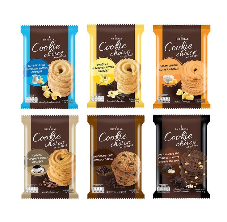 Full Range Re-Packaging Design for Imperial Cookie Choice...!!! Designed by Prompt Design.