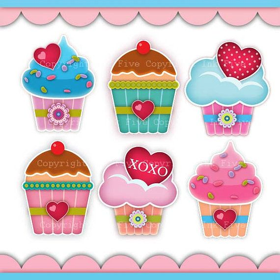 Hey, I found this really awesome Etsy listing at https://www.etsy.com/listing/124533630/digital-clip-art-cupcakes-with-love-cute