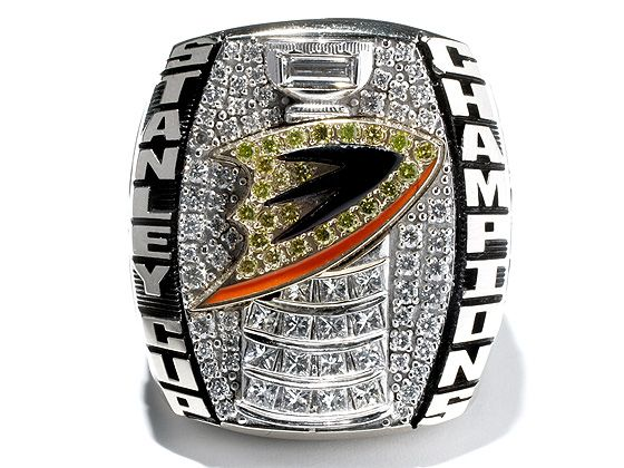 Anaheim Ducks - 2007 Stanley Cup Ring (I really wish they had won as the Mighty Ducks)