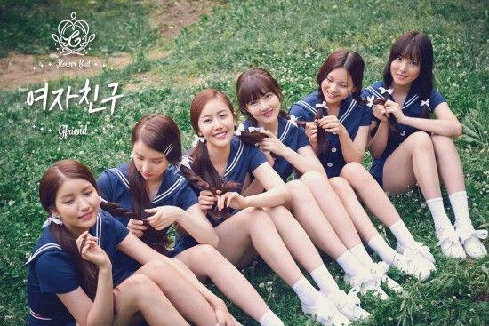 G-Friend release more adorable group photos for 'Flower Bud'   allkpop.com