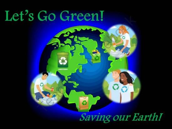 Earth Day Giveaway! - Enter for your chance to win this Earth Day lesson..  A GIVEAWAY promotion for Lets Go Green America! from La-NetteMark on TeachersNotebook.com (ends on 4-21-2014)
