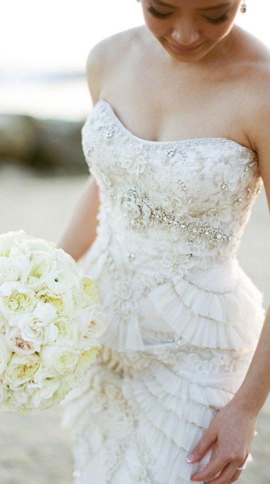 675 best abiti sposa images on Pinterest | Wedding frocks ...