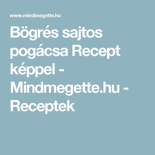 Bögrés sajtos pogácsa Recept képpel - Mindmegette.hu - Receptek