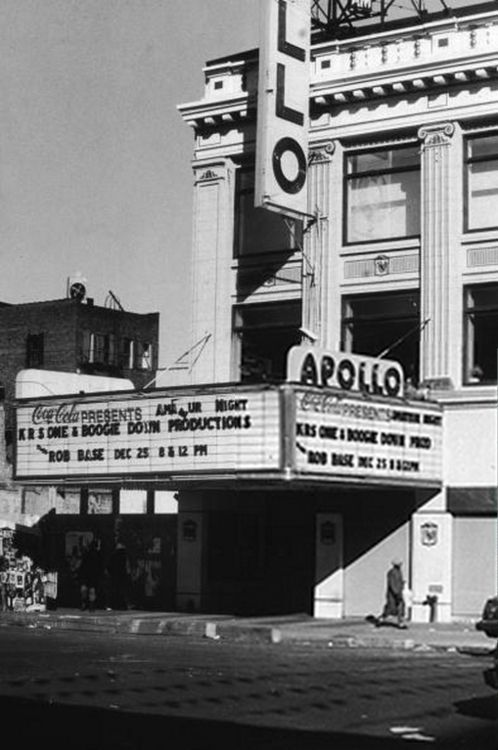 KRS One & Boogie Down Productions@ Apollo theater