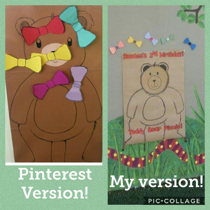 Teddy Bear Picnic game!