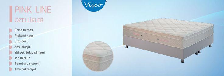 Örme kumaş (Özel dokulu)    29 cm Yükseklik   Yüksek dolgu süngeri   Plaka sünger (High density)   Yan bordür    (Özel tasarım)   Bonel yay sistemi (5 konfor bölgeli)     Gizli pedli   Anti-alerjik   Anti-bakteriyel   Flatpack ambalaj