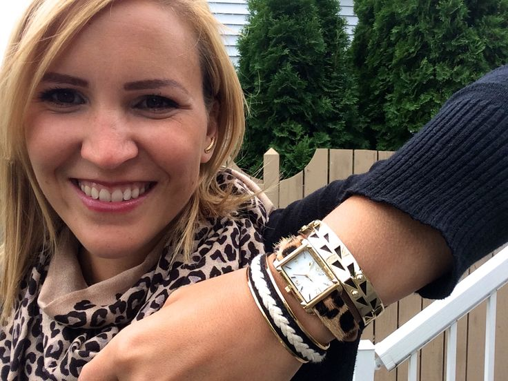 Time to create and arm party!! The leopard watch looks awesome with the cuff bracelets