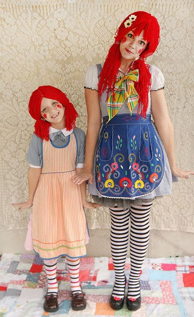 Rag Doll Halloween Costume ::: Top 10 DIY Kids Halloween Costumes~ awl!