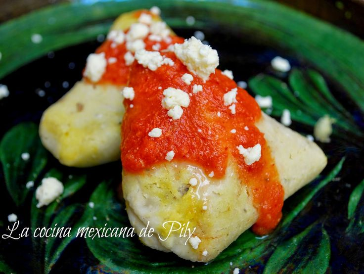 La cocina mexicana de Pily: Corundas