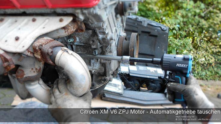 Citroën XM V6 ZPJ - Automatikgetriebe 4HP18 von ZF ausbauen - https://www.bxig.net/citroen-xm-v6-zpj-automatikgetriebe-4hp18-von-zf-ausbauen/  Einleitung  Auch wenn das 4HP18 Automatikgetriebe von ZF und besonders die nach 1996 gebauten Revisionen sehr robust ist/sind, vor allem im Vergleich zu dem Nachfolger 4HP20, kommt es vor, dass man das Getriebe wegen eines Schadens tauschen muss.    Wie das geht, beschreibe ich hier.  von Michael Werth