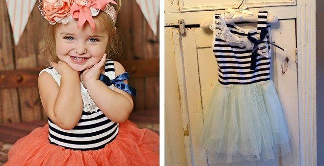 Nautical Party Dress