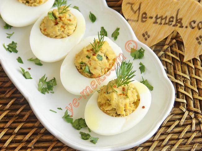 Yumurta Dolması Resimli Tarifi - Yemek Tarifleri