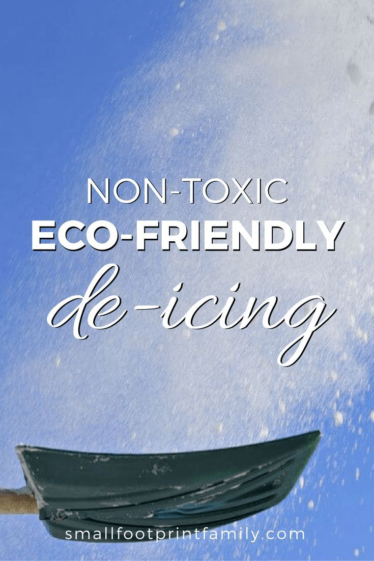 As snow falls this week, choose eco friendly de-icing salts because most conventional deicers are harmful to pets, kids, cars and local wildlife and rivers.  #greenliving #greenparenting #ecofriendly #sustainability #gogreen #naturalliving #climatechange #nogmos #gmofree #nontoxic #garden #gardening #organicgarden #permaculture