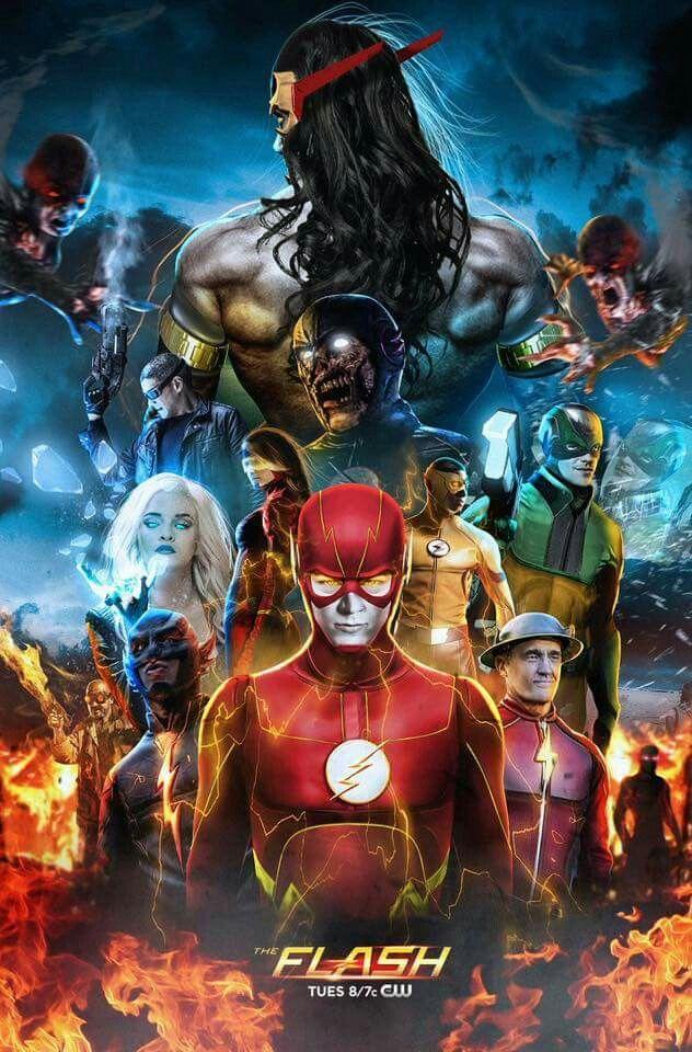 The Flash and Jay Garrick      Killer fost# Catelin # Villain  Vs so many Villain