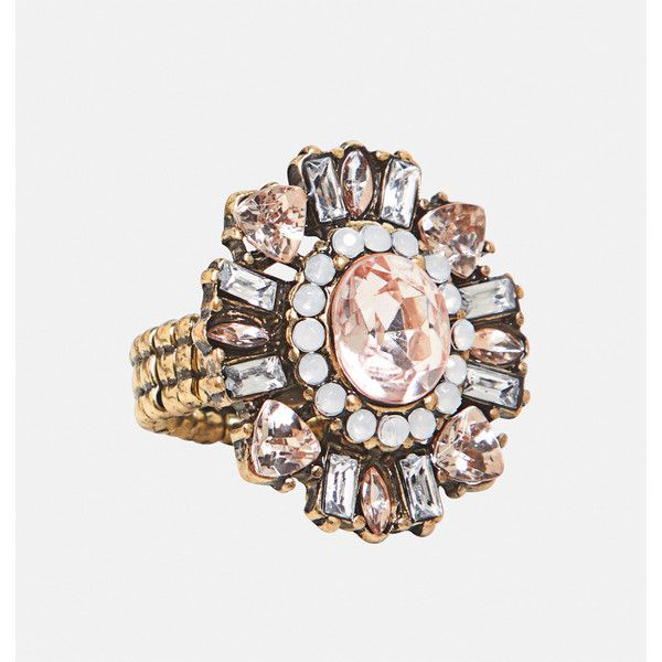 Avenue Starburst Stretch Ring ($10) ❤ liked on Polyvore featuring jewelry, rings, multi color, plus size, colorful rings, multi color rings, artificial jewellery, round ring and fake jewelry