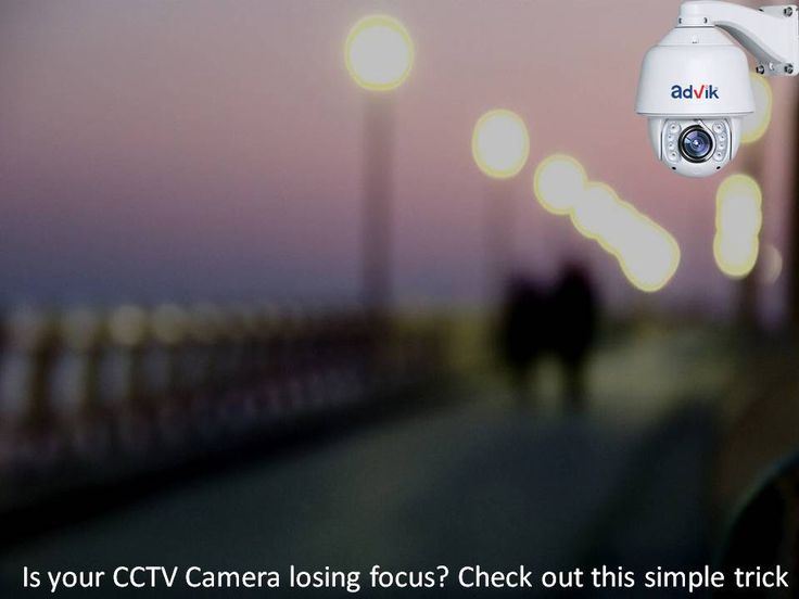 Is your CCTV #Camera losing focus? Check out this simple trick. With advance in #technology, our surveillance and #CCTVcameras have evolved to offer better image and #video clarity. Modifications and features designed to allow us greater flexibility and functions in terms of where to mount the #CCTV camera and how to use it. However, all this advancement has created a new problem.See more at:http://bit.ly/2lfkq6G