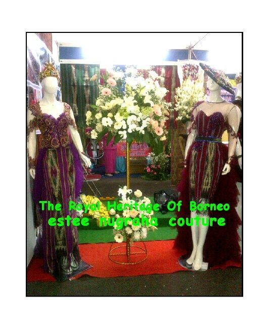 The Royal Heritage Of Borneo Ulap Doyo Couture by estee nugraha