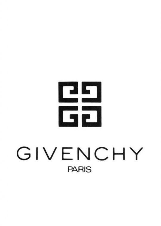 givenchy logo, 1970  is a luxury French brand of haute couture clothing, accessories and, as Parfums Givenchy, perfumes and cosmetics. The house of Givenchy was founded in 1952 by designer Hubert de Givenchy and is a member of Chambre Syndicale de la Haute Couture et du Pret-a-Porter. It is owned by luxury group LVMH and in 1993 achieved a total sales worth of $176 million, making it the second largest apparel division of LVMH after Dior.