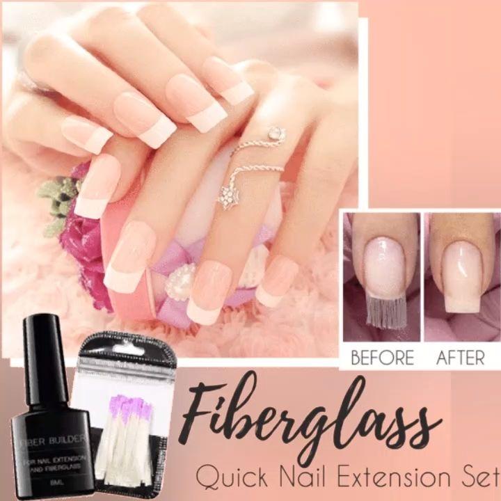 Shop Today>>57% OFF Fiberglass Quick Nail Extension Set – Nägel