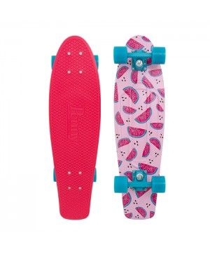 "Melon Mania 27"" Penny Board - so fun to ride around campus with"