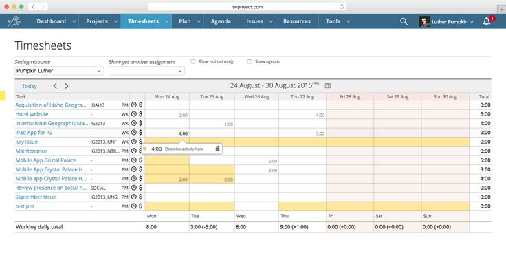 timesheet template excel architect - Google Search references - time sheet template