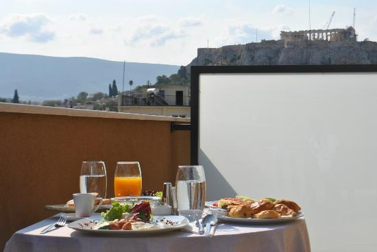 OandB Athens Boutique Hotel: Room with a view