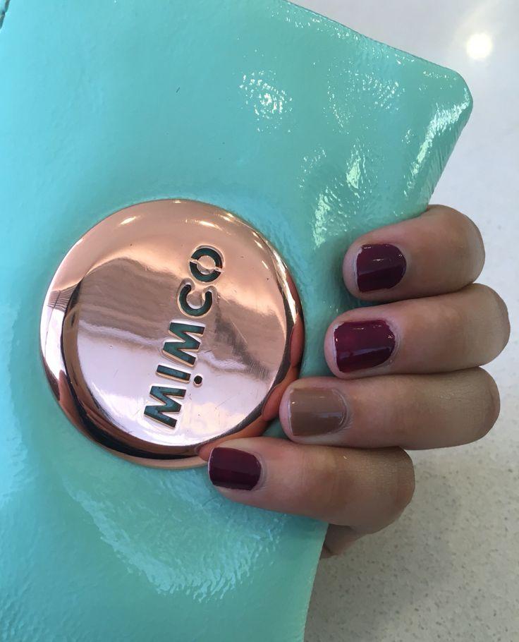 #mimco #purple&nudenails