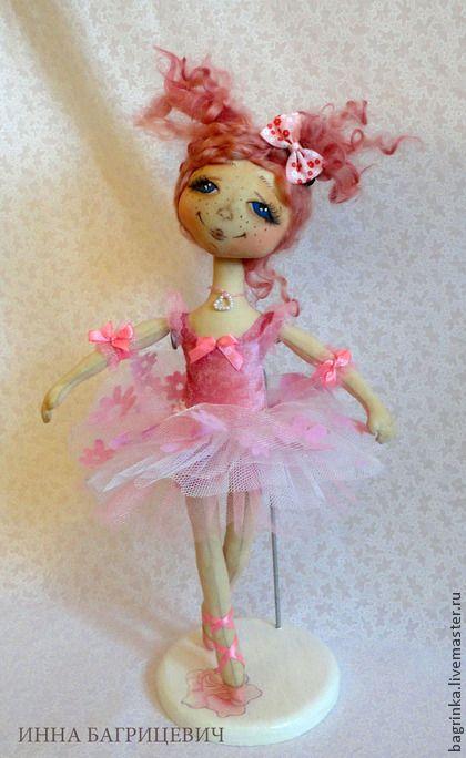 Коллекционные куклы ручной работы. Ярмарка Мастеров - ручная работа На пуантах. Handmade.
