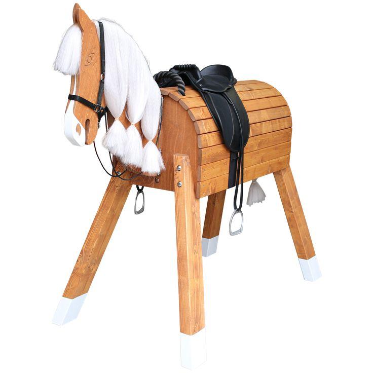 Holz-Pferd für kleine Prinzessinnen und Cowboys