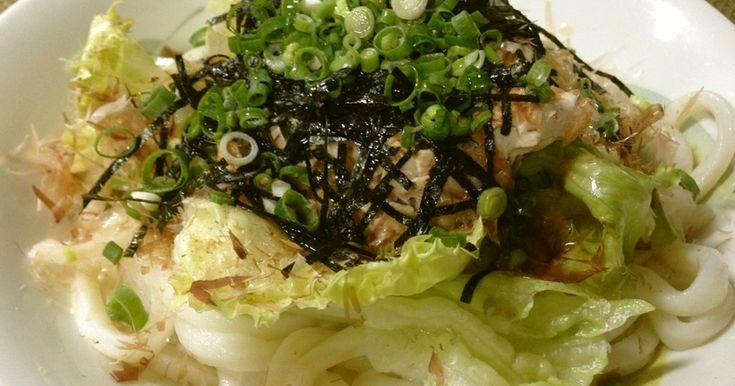 冷やしうどん:サラダうどん*ツナマヨ by MOMOKO312 [クックパッド] 簡単おいしいみんなのレシピが247万品