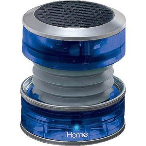 iHome Crystal Tunes Mini Speaker - This line of iHome speakers offer great, loud sound in a little package. Rechargeable internal battery.