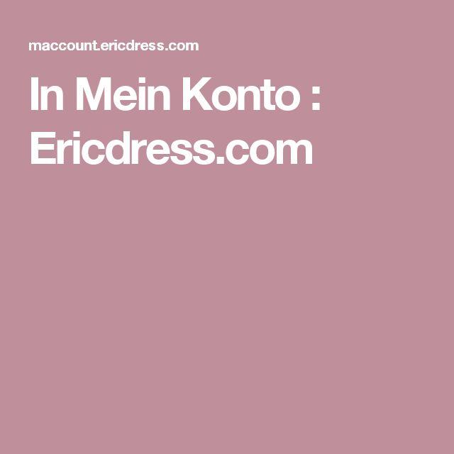 In Mein Konto : Ericdress.com
