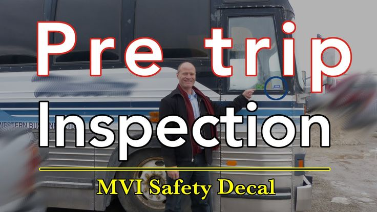 How to Read the Motor Vehicle Inspection Decal and Do an Inspection | Pr...