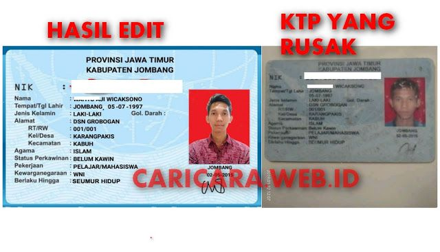 Jasa Edit Ktp Untuk Verifikasi Adsense Mahasiswa Belajar Kewarganegaraan