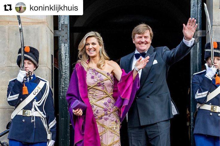 #Repost @koninklijkhuis with @repostapp  Mijn 50ste verjaardag was fantastisch mede dankzij de vele hartverwarmende brieven kaarten digitale gelukwensen mondelinge felicitaties en persoonlijke attenties die ik mocht ontvangen. Het was een prachtig feest waaraan heel veel mensen hebben bijgedragen. U allen wil ik heel hartelijk danken. Uw betrokkenheid heeft de viering van dit kroonjaar voor mij onvergetelijk gemaakt. - WA  Robin Utrecht