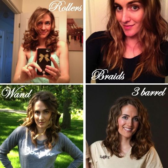 How to achieve 4 totally different curls!