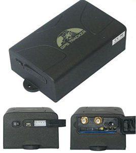 TRACEUR GPS TK-104 LONGUE AUTONOMIE ESPION GSM ANTIVOL VEHICULE SOS ALARM GÉOLOCALISATION