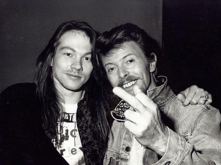 Axl Rose and David B.
