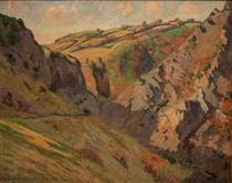 Caves Prunal near Pontgibaud (Auvergne) - Armand Guillaumin