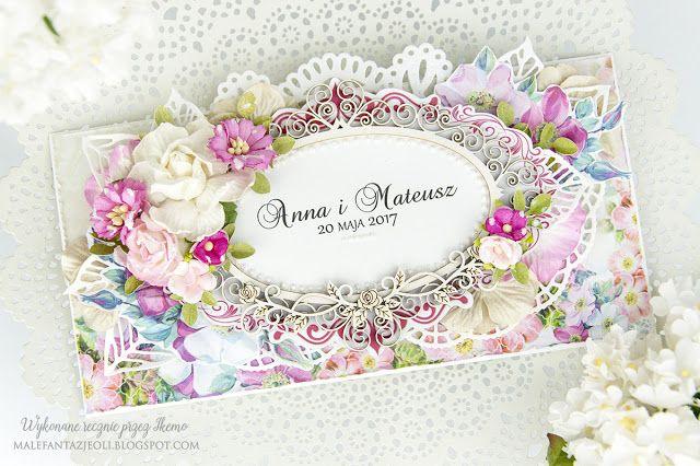 Male fantazje Oli: DT Lemoncraft - Kolorowy ślub / Colorful wedding