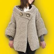 Hepburn Cardigan Coat - via @Craftsy