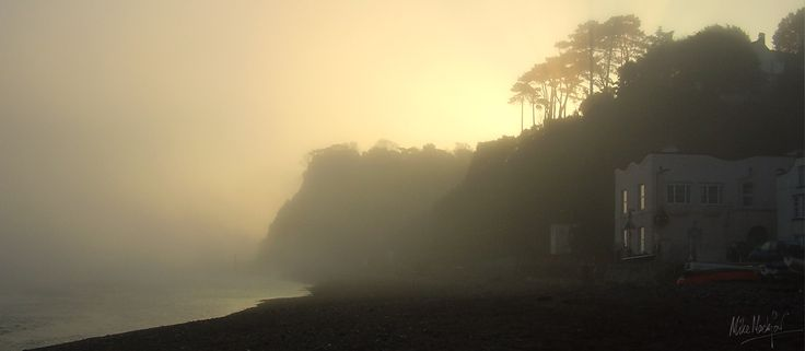 The Ness at Shaldon in the evening - Romantic seaside holiday cottages South Devon