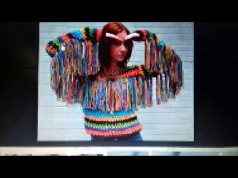 Tendência verão 2017   crochê com mistura de cores